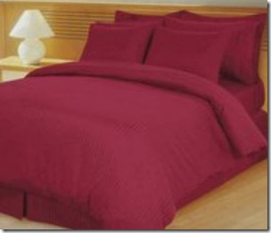 Milan Burgundy Sheet Set