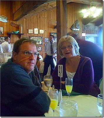Chris and Linda