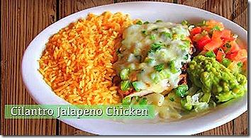 Cilantro Jalapeno Chicken