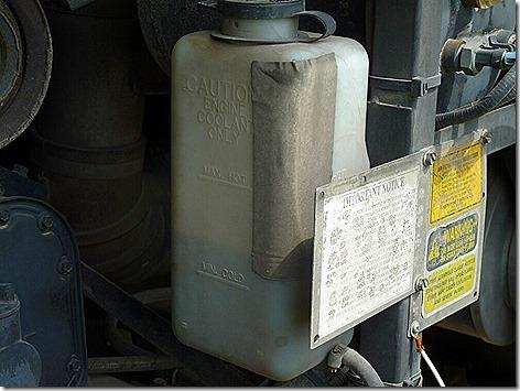 Coolant Tank Enterabond Repair