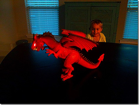 Landon and the Dragon 1