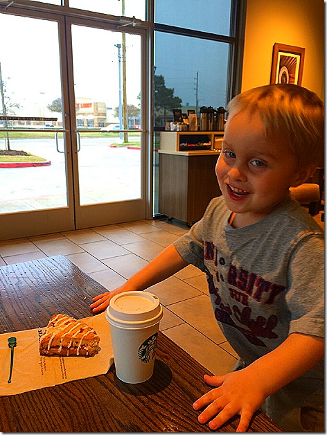 Landon's Early Morning Starbuck's Run 2
