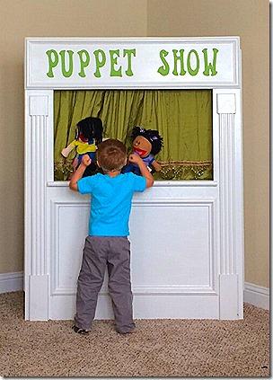 Landon's Puppet Show 1