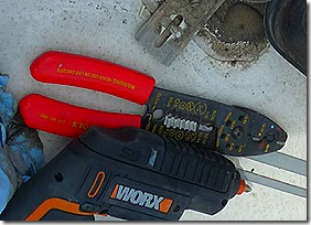 Roof Vent Repair Crimpers