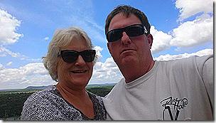 Chris and Linda at Inks Lake