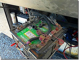 Engine Battery Change 1