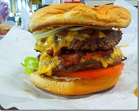 Hruska's Burger