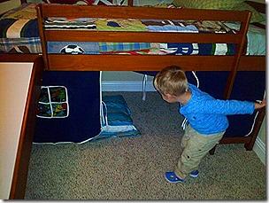 Landon's New Bed 2