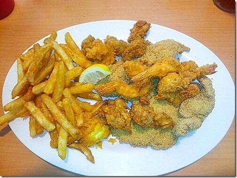Sealand Seafood Platter