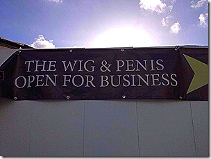 The Wig and Penis
