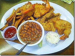 Vernon's Katfish Platter