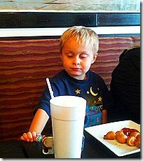 Landon at Little V's 4