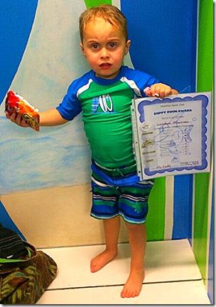 Landon Swim Graduation