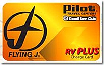 RV Plus Card Logo