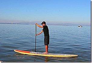 standup paddle board
