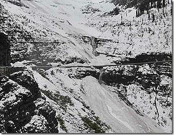Glacier Natonal Park Snow2