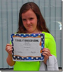 Gwen's Graduation