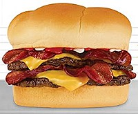 S and S Bacon Lovers Double Steakburger