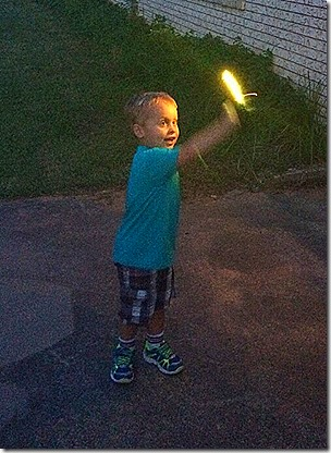 Landon on the 4th of July